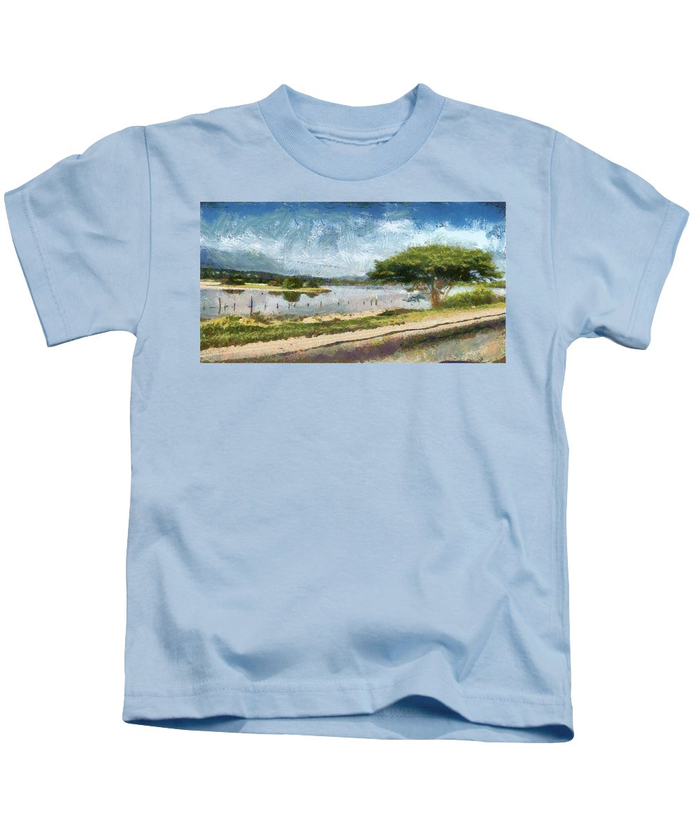 Natural Kids T-Shirt featuring the photograph Natural Reserve Of Cuare by Galeria Trompiz