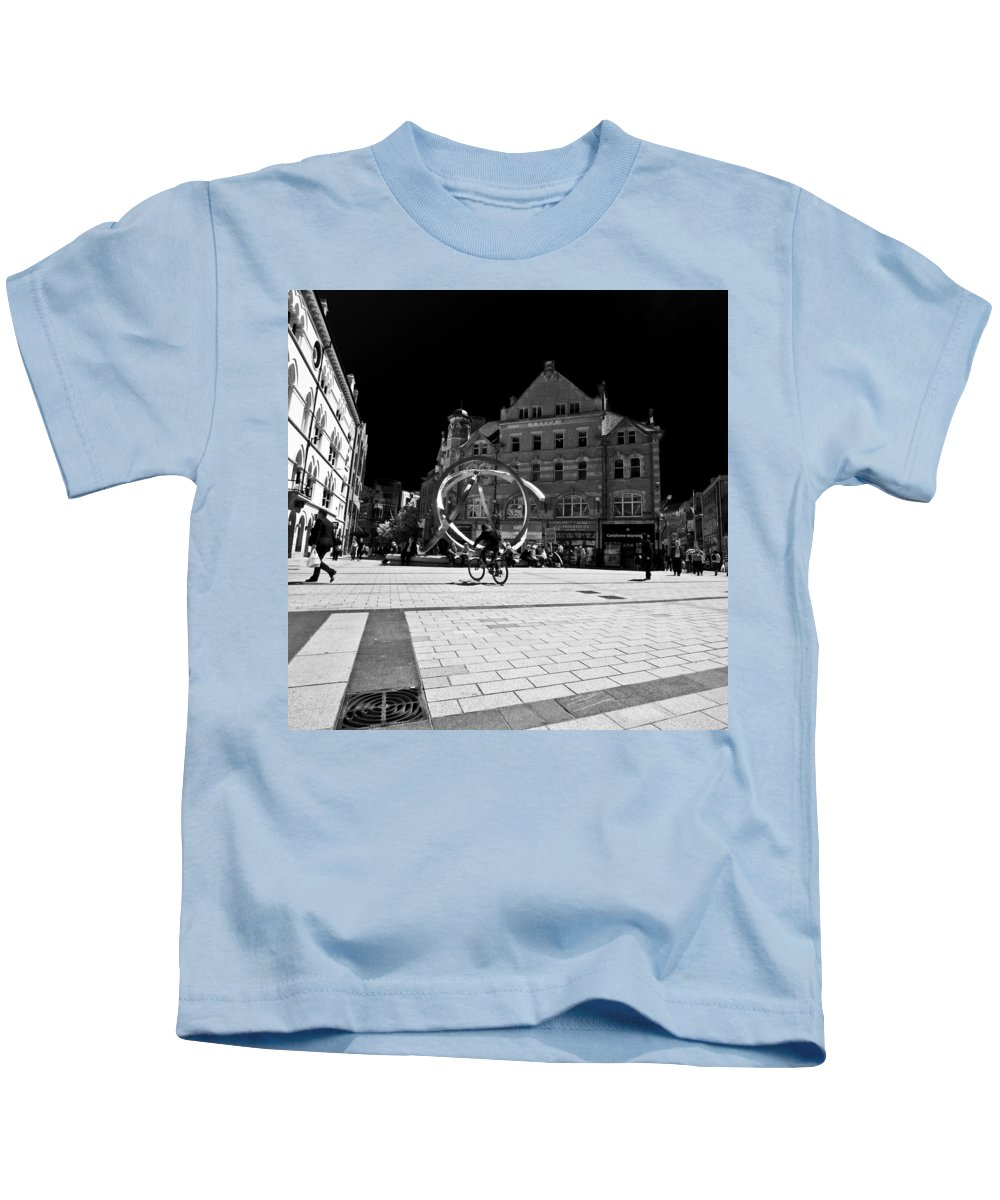 Antrim Kids T-Shirt featuring the photograph Northern Ireland 64 by Avril Christophe