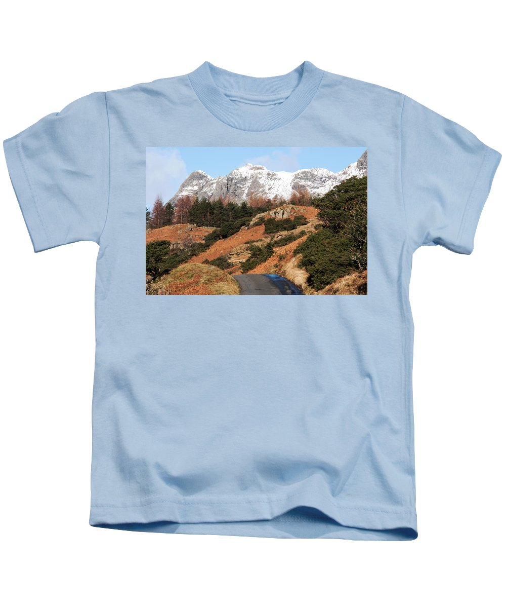 Beaten Track Kids T-Shirt featuring the photograph Off The Beaten Track by Susan Tinsley