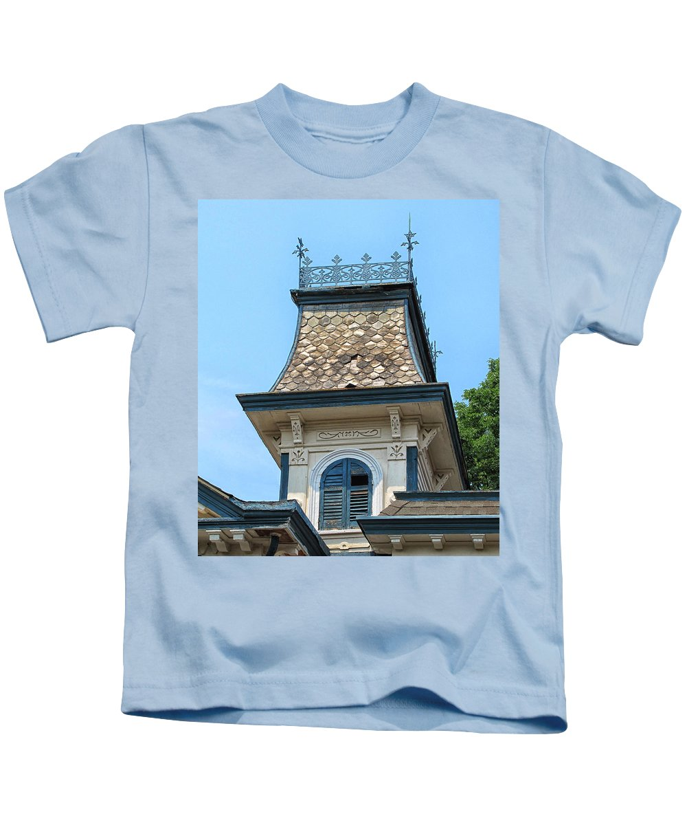 Cupola Kids T-Shirt featuring the photograph Old Cupola by Dave Mills