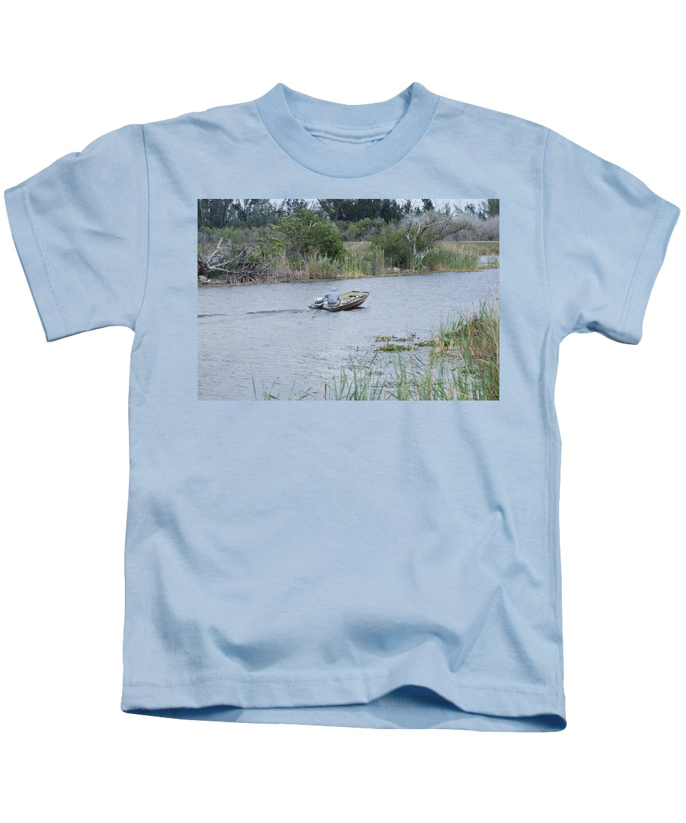 River Kids T-Shirt featuring the photograph Old Man River by Rob Hans
