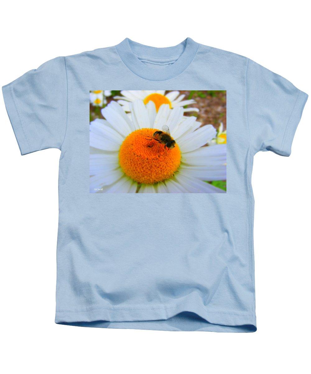 Orange Aid Kids T-Shirt featuring the photograph Orange Aid by Edward Smith