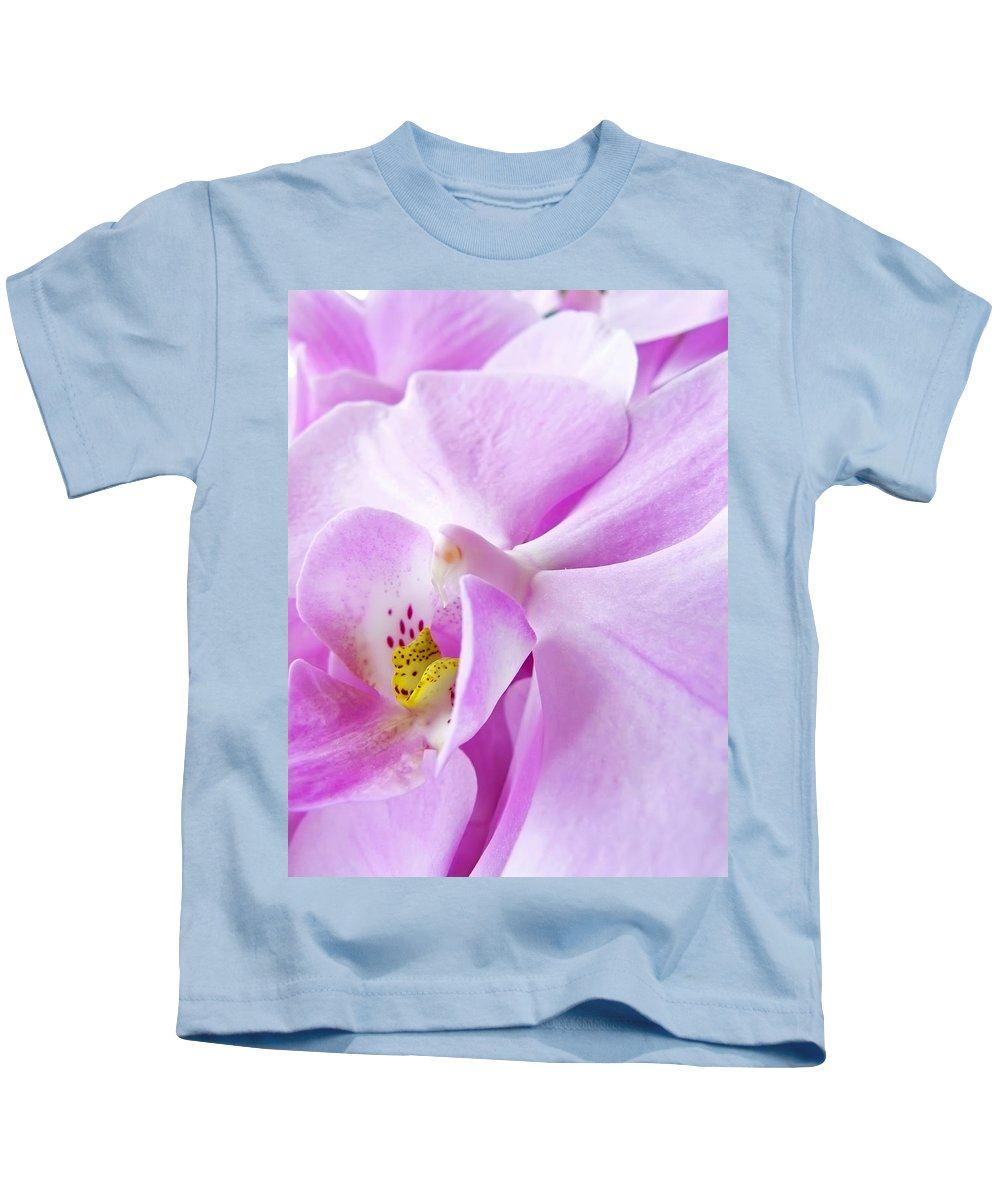 Orchid Kids T-Shirt featuring the photograph Orchid by Daniel Csoka