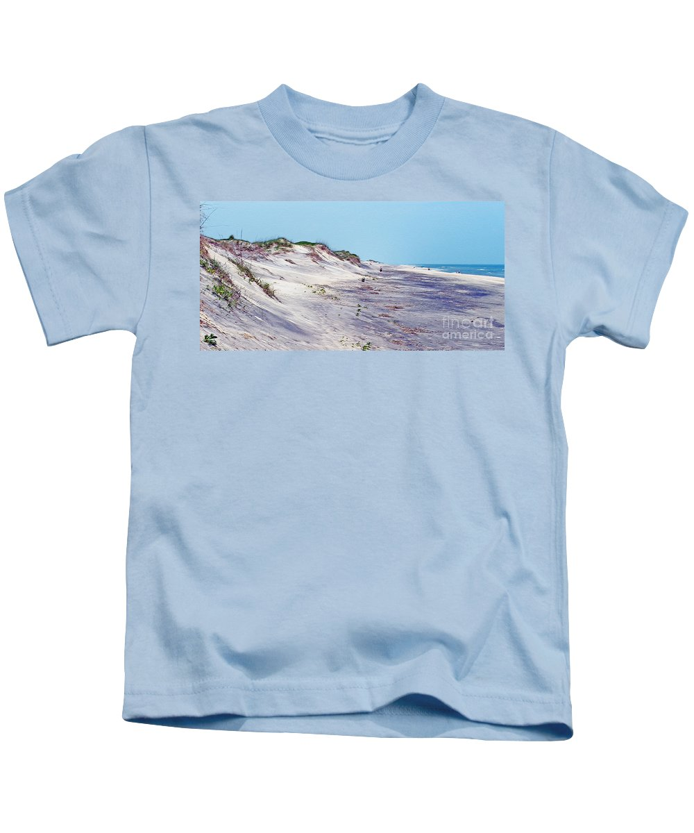 Beach Kids T-Shirt featuring the photograph Outer Banks 2 by Lydia Holly