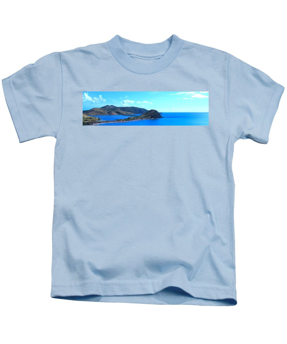 St Kitts Kids T-Shirt featuring the photograph Panhandle by Ian MacDonald