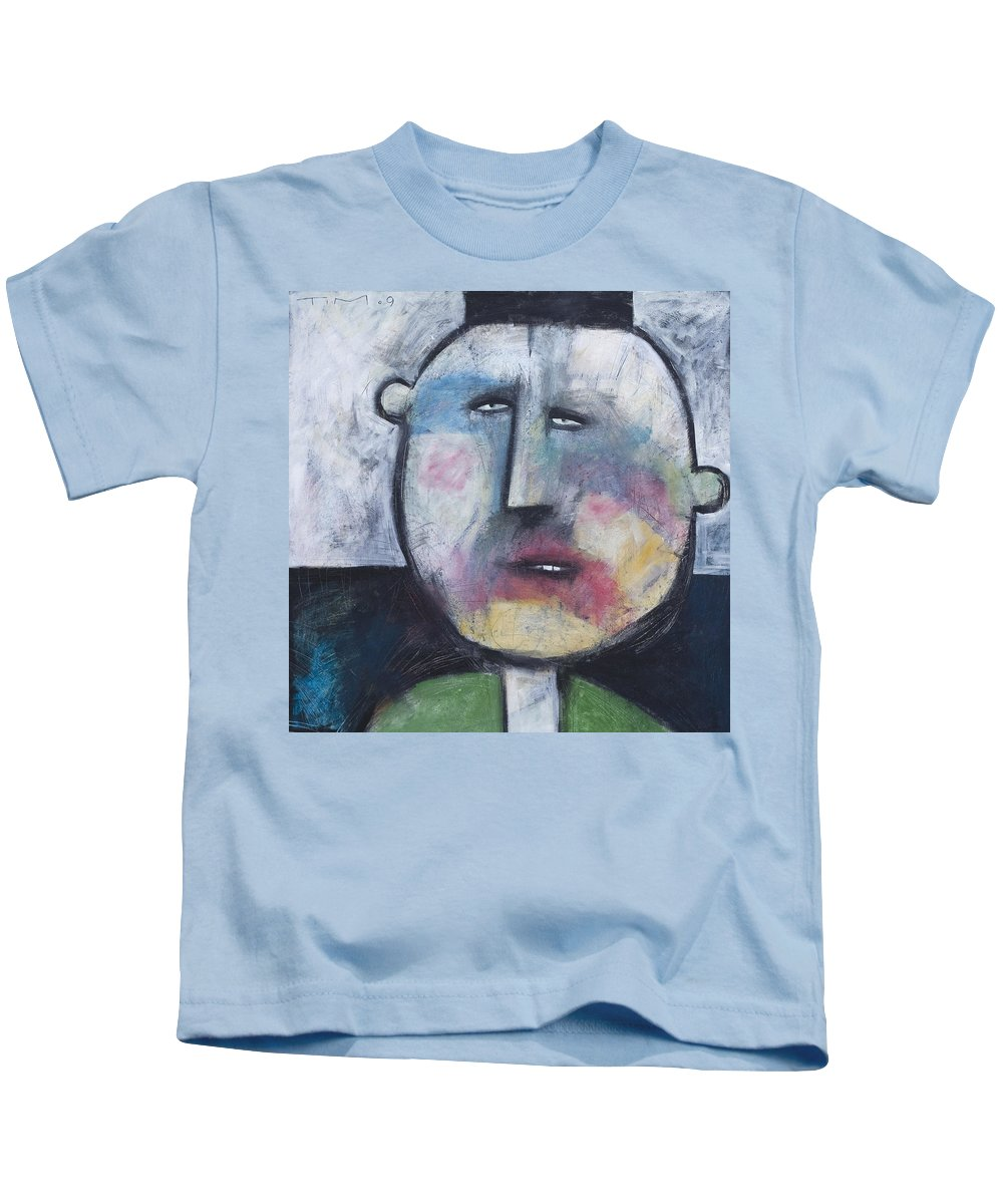 Funny Kids T-Shirt featuring the painting Pillbox by Tim Nyberg