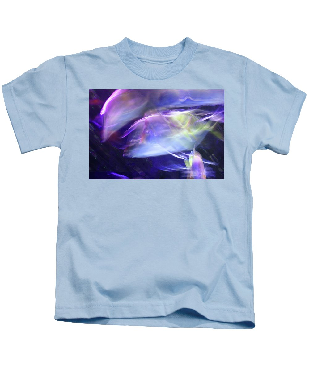 Abstract Kids T-Shirt featuring the photograph Pisces by Steve Karol
