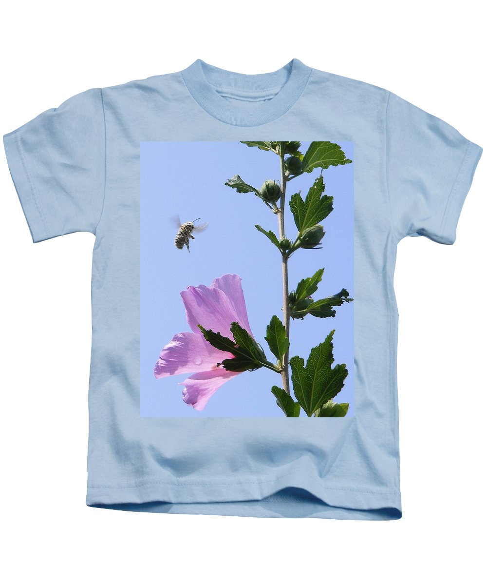 Landscape Kids T-Shirt featuring the photograph Pollen Nation by Ed Smith