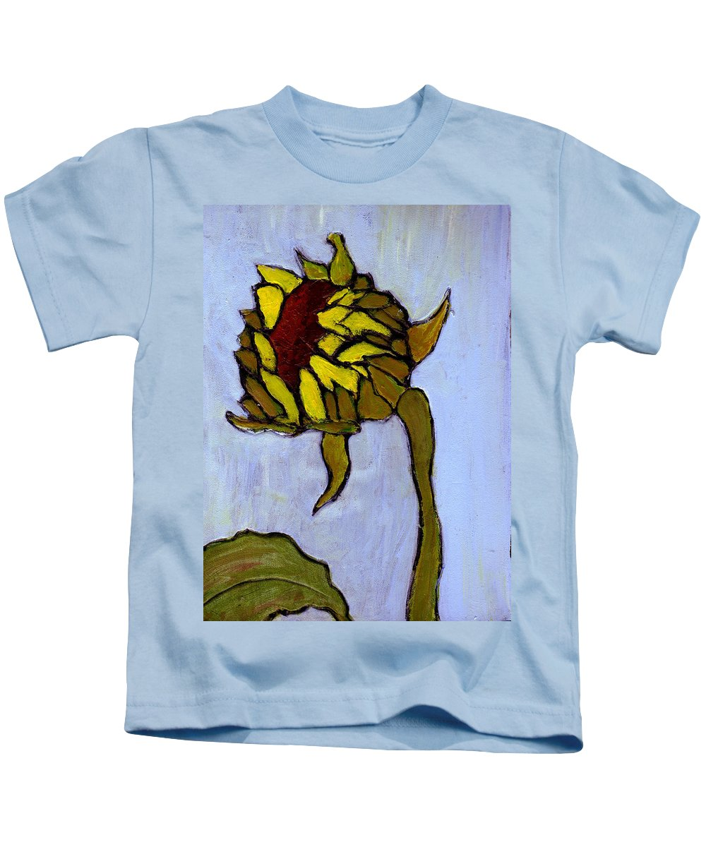 Sunflower Kids T-Shirt featuring the painting Potential by Wayne Potrafka