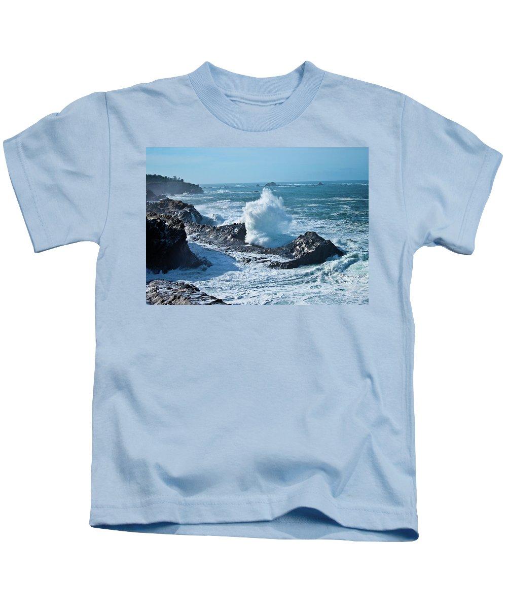 Power Kids T-Shirt featuring the photograph Power by Merrill Beck