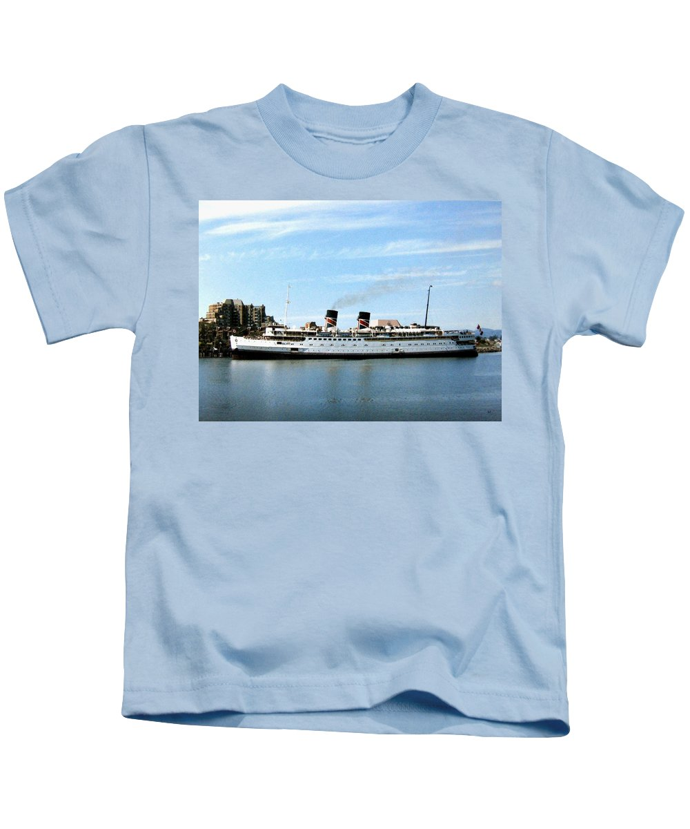 Princess Marguerite Kids T-Shirt featuring the photograph Princess Marguerite by Will Borden