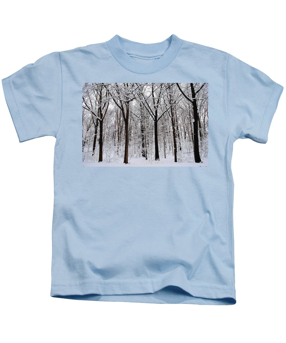 Tree Kids T-Shirt featuring the photograph Protectors Of Sherwood by Frozen in Time Fine Art Photography