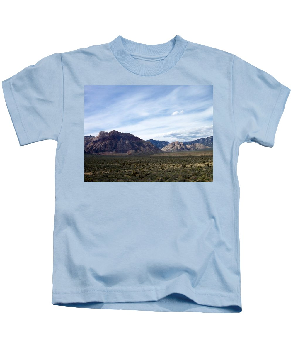 Red Rock Canyon Kids T-Shirt featuring the photograph Red Rock Canyon 4 by Anita Burgermeister