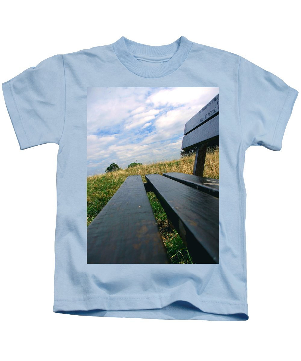 Sympathy Kids T-Shirt featuring the photograph Remembrance by Heather Lennox
