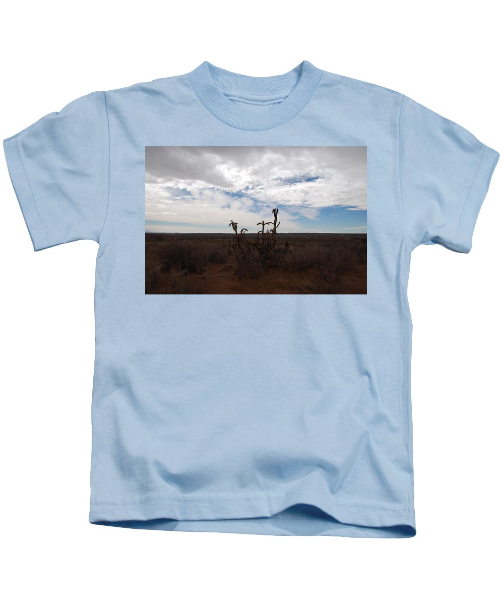 New Mexico Kids T-Shirt featuring the photograph Rio Rancho New Mexico by Rob Hans