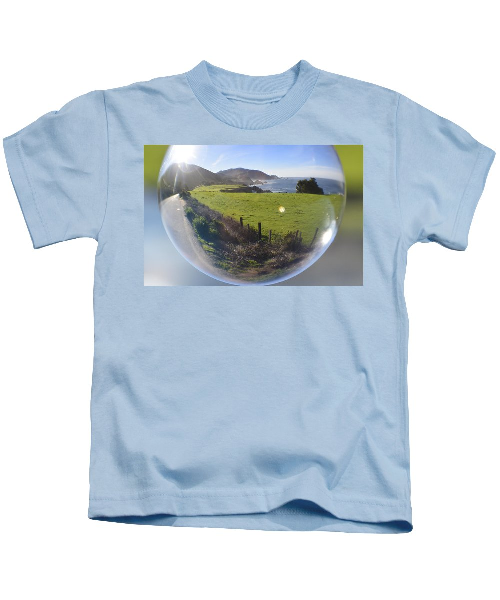 California Kids T-Shirt featuring the photograph Road Trip by Kellie Prowse