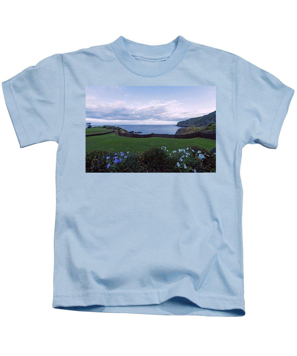 Caloura Kids T-Shirt featuring the photograph Room With A View by M Bernardo