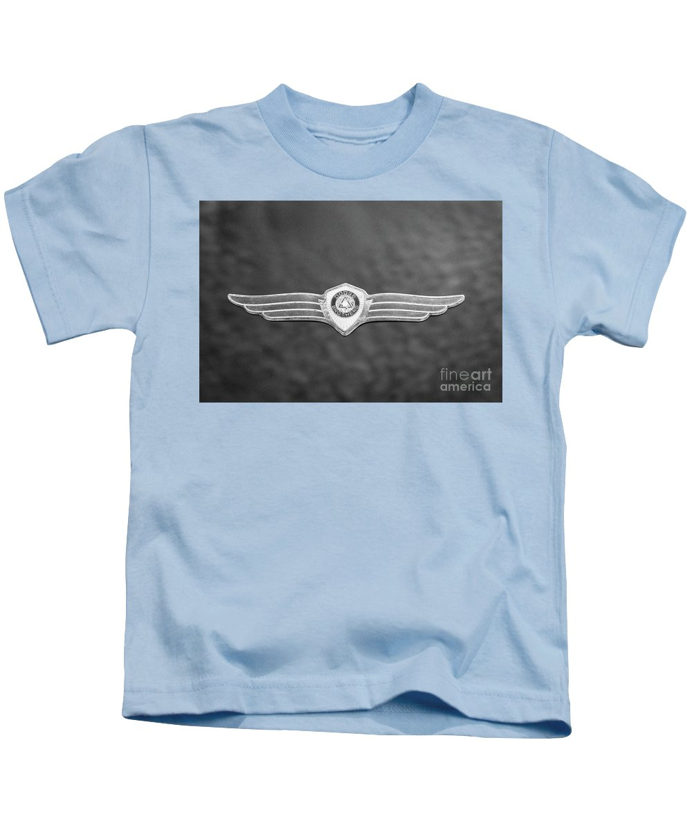 1938 Kids T-Shirt featuring the photograph Monotone Dodge by Dennis Hedberg