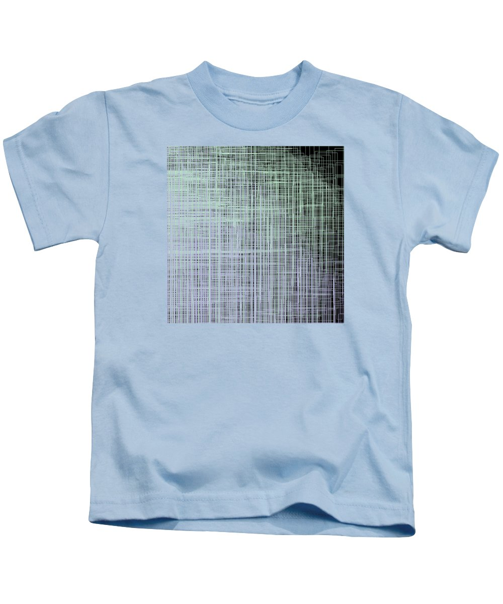 Abstract Kids T-Shirt featuring the digital art S.4.44 by Gareth Lewis