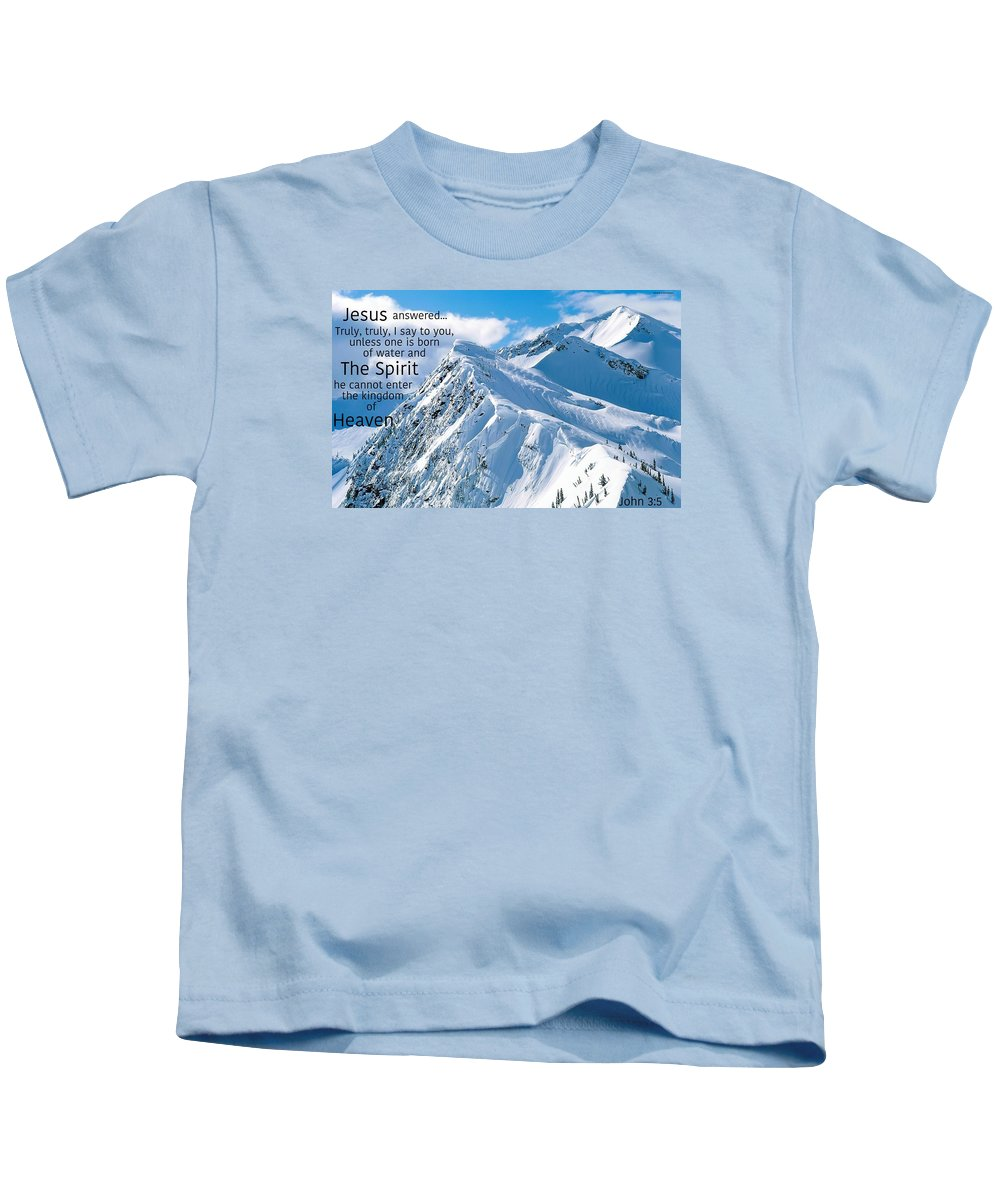 Kids T-Shirt featuring the photograph Salvation5 by David Norman