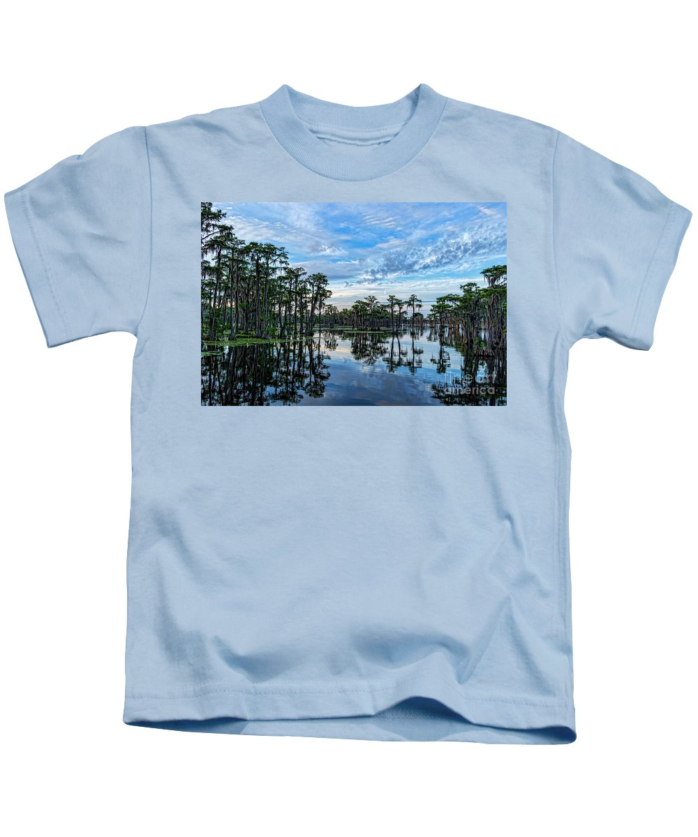 Landscapes Kids T-Shirt featuring the photograph Serenity by Bill And Deb Hayes