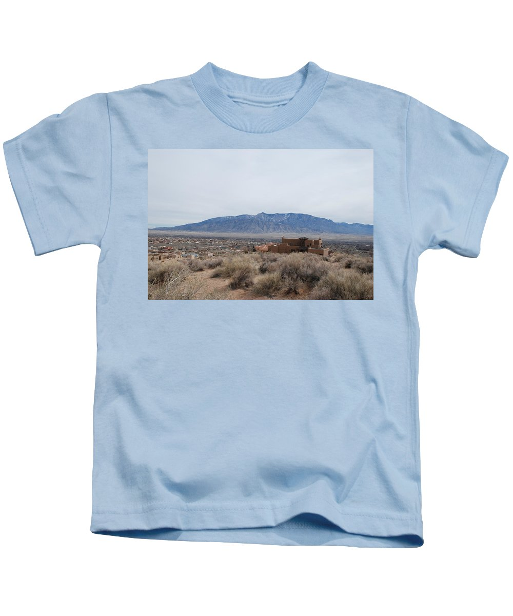 Mountians Kids T-Shirt featuring the photograph Shoulda Coulda Woulda by Rob Hans