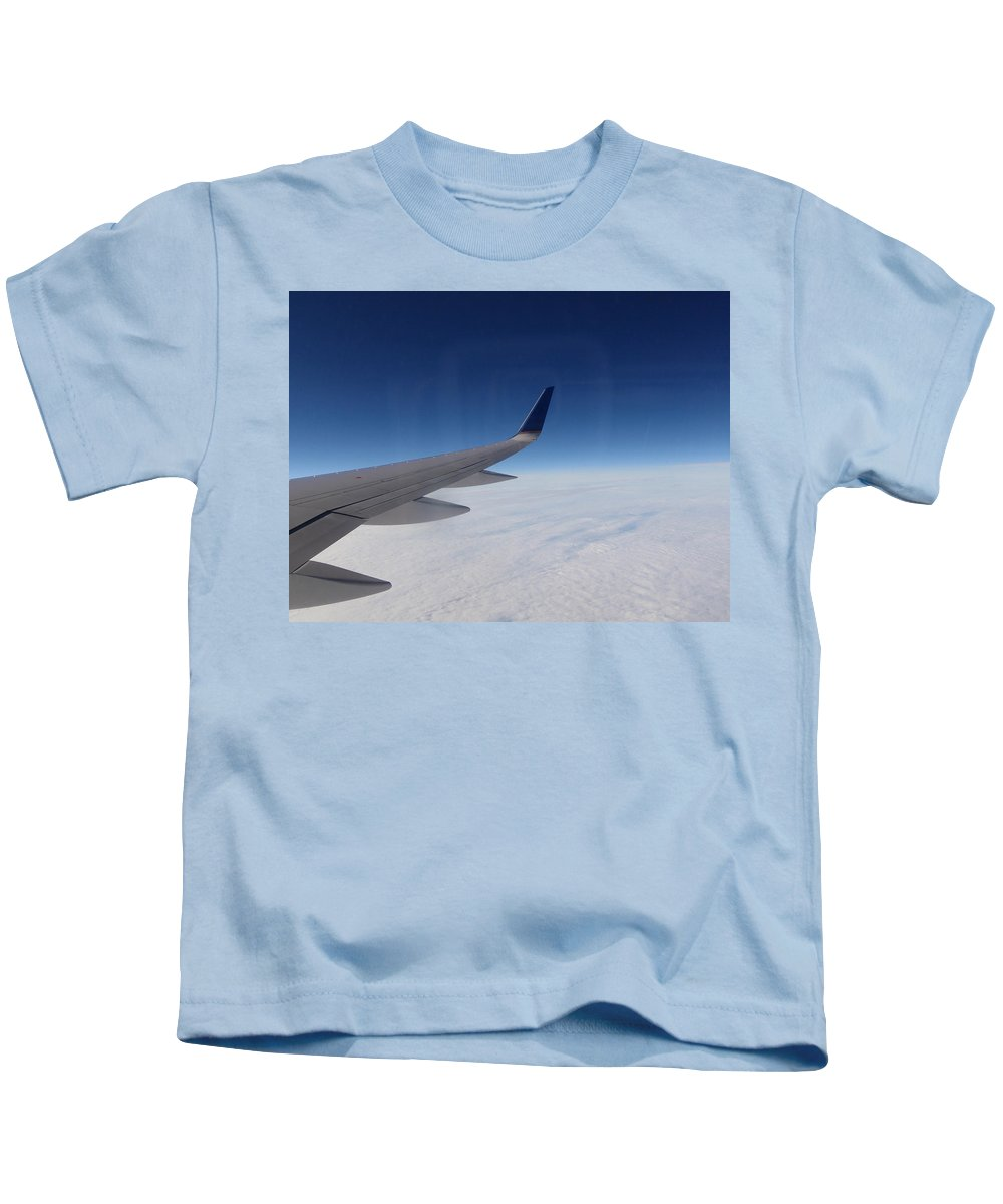 Sky Kids T-Shirt featuring the photograph Sky Is The Limit by Are Lund