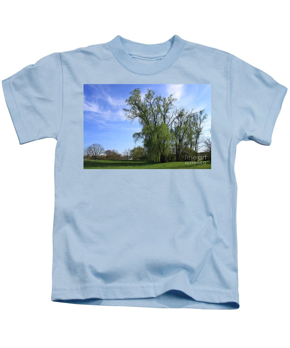 Landscape Kids T-Shirt featuring the photograph Spring Day by Todd Blanchard