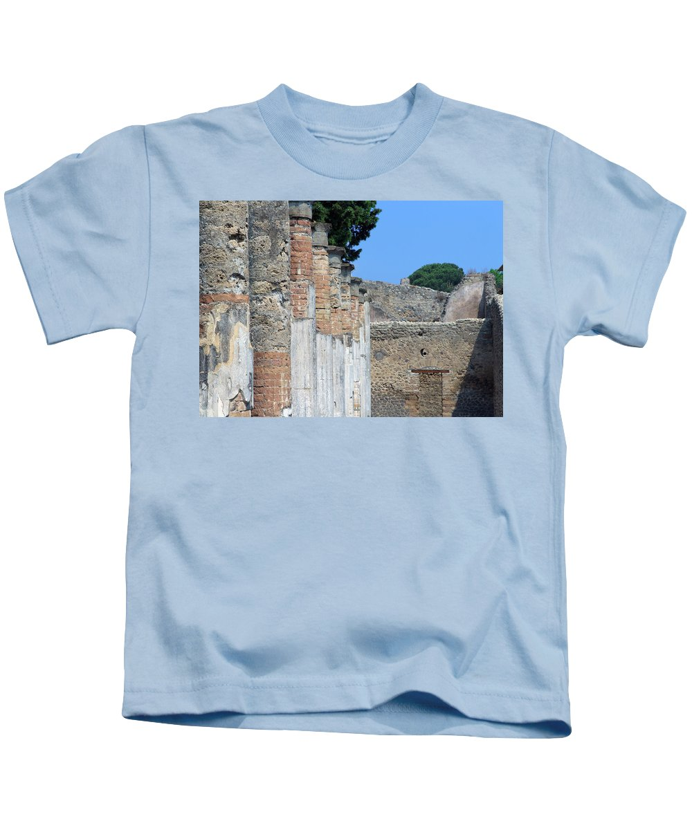 Ancient Kids T-Shirt featuring the photograph Standing The Test Of Time by Keith Armstrong