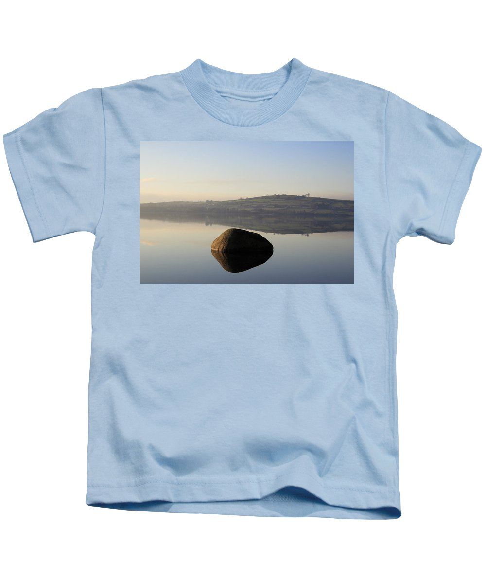 Landscape Kids T-Shirt featuring the photograph Stone Egg by Phil Crean