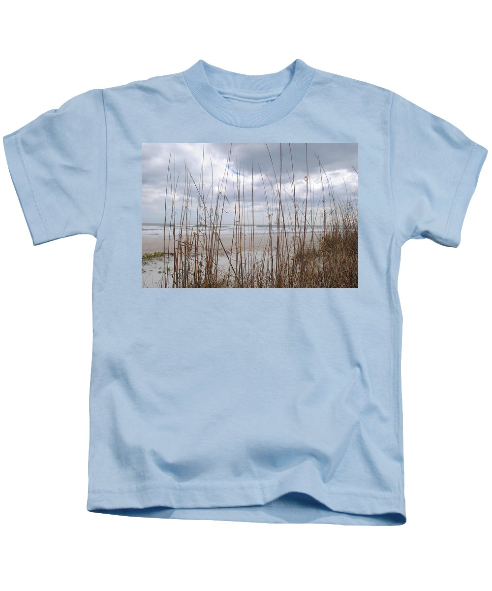 Florida Kids T-Shirt featuring the photograph Storm Approach by Jost Houk