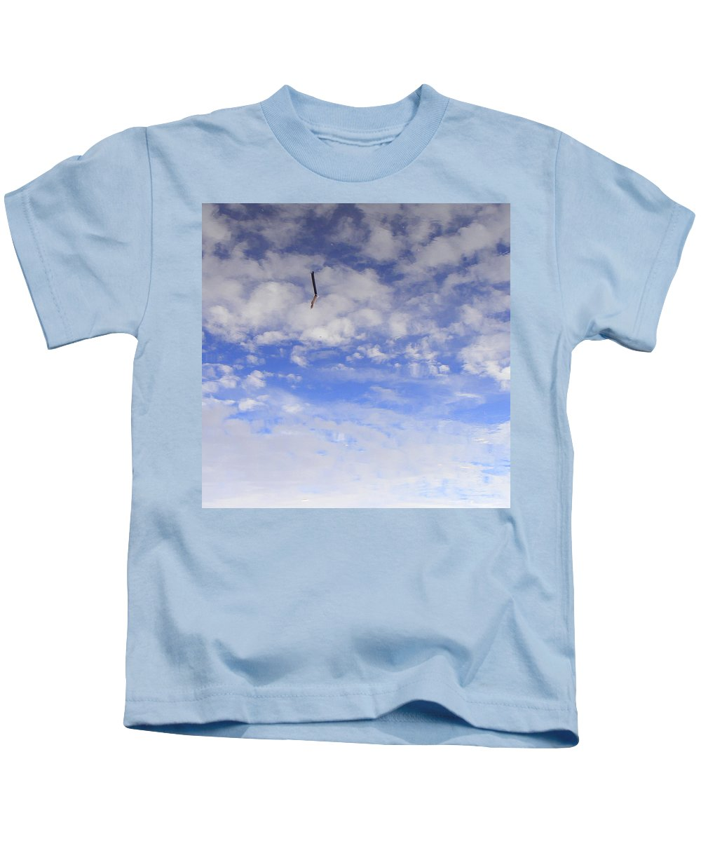 Sky Kids T-Shirt featuring the photograph Stuck In The Clouds by Ed Smith