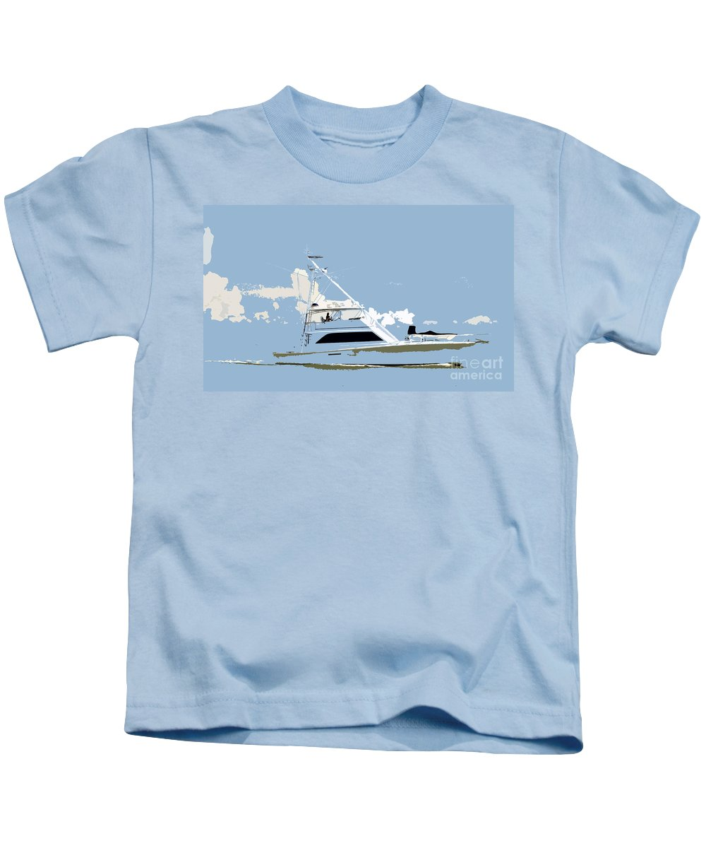 Boat Kids T-Shirt featuring the photograph Summer Freedom by David Lee Thompson