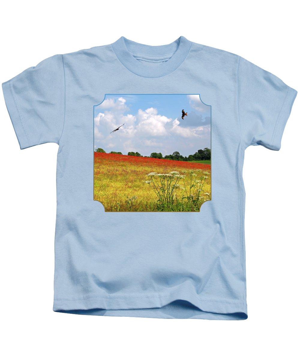 Kite Photographs Kids T-Shirts