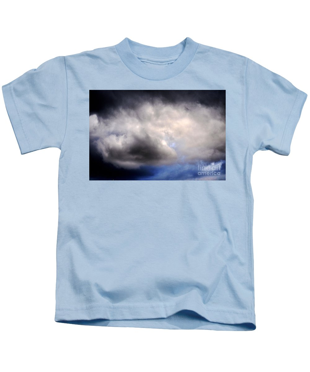 Clay Kids T-Shirt featuring the photograph The Beauty Of Clouds by Clayton Bruster