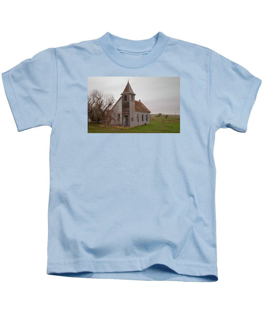 Church Kids T-Shirt featuring the photograph The Door Is Always Open by Grant Groberg