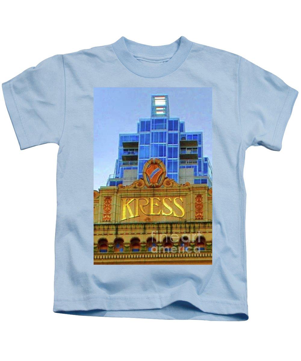 Kress Kids T-Shirt featuring the photograph The Kress by Jost Houk