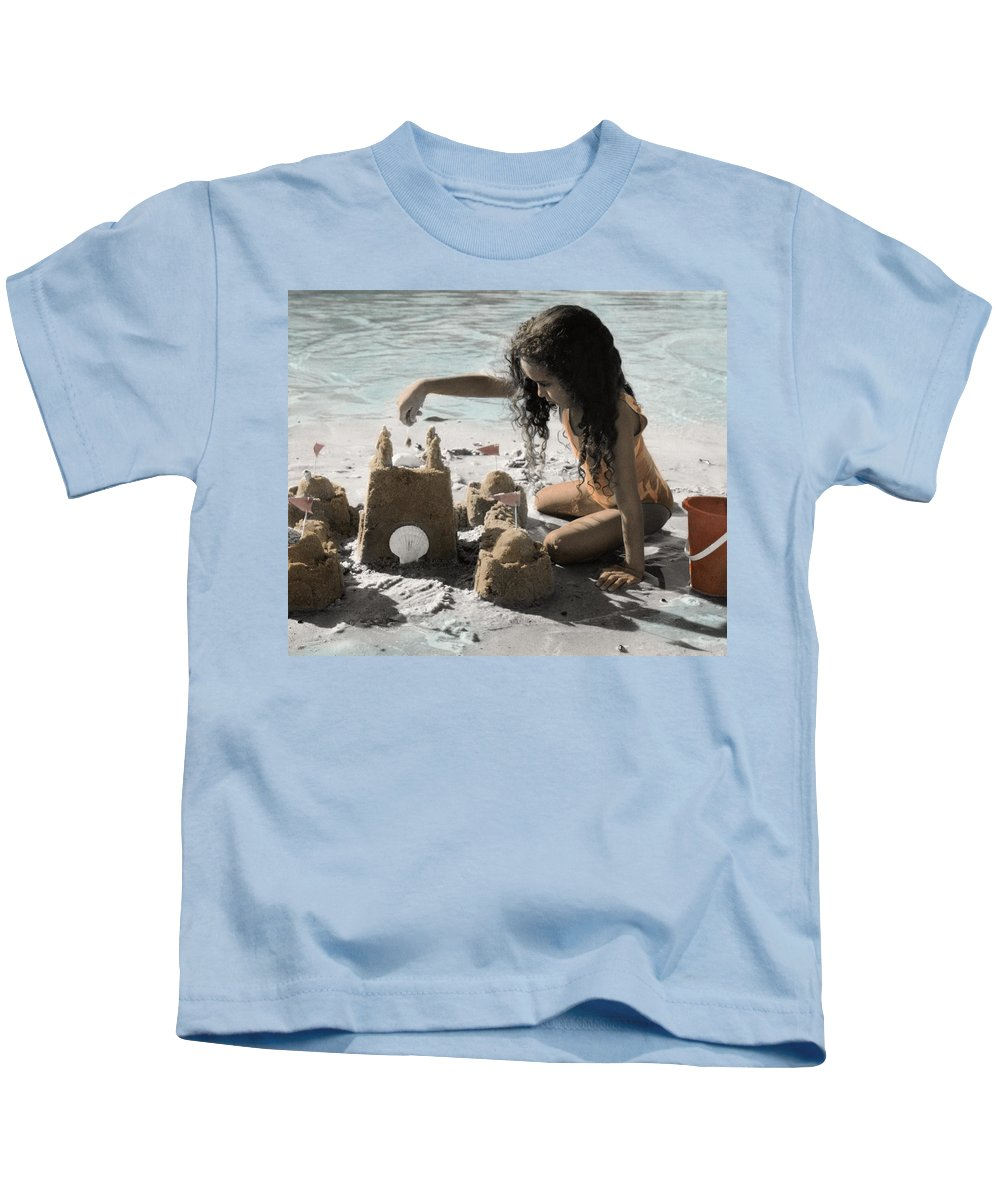 The Twelve Gifts Of Birth Kids T-Shirt featuring the photograph The Twelve Gifts Of Birth - Imagination 1 by Jill Reger