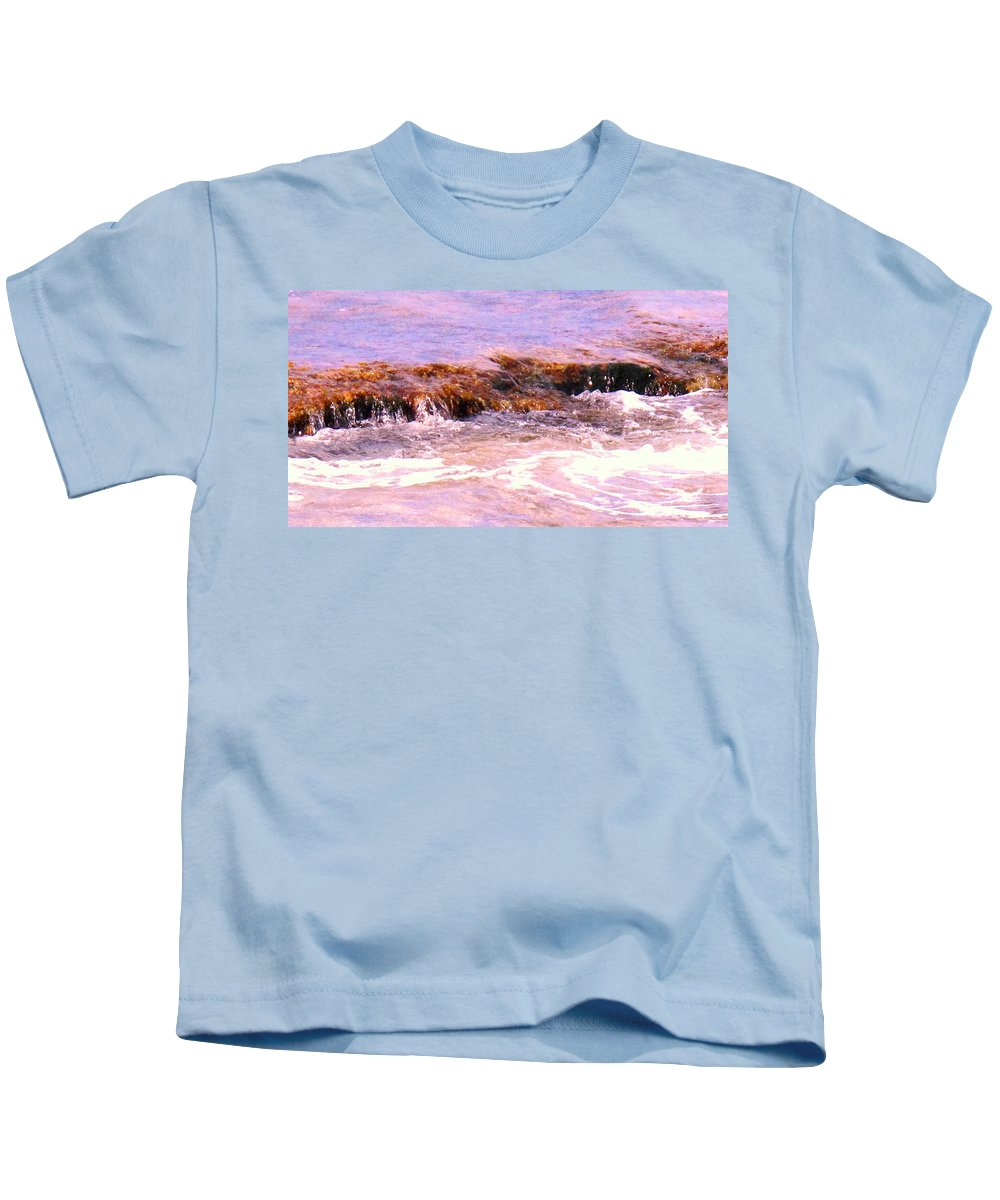 Tide Kids T-Shirt featuring the photograph Tidal Pool by Ian MacDonald