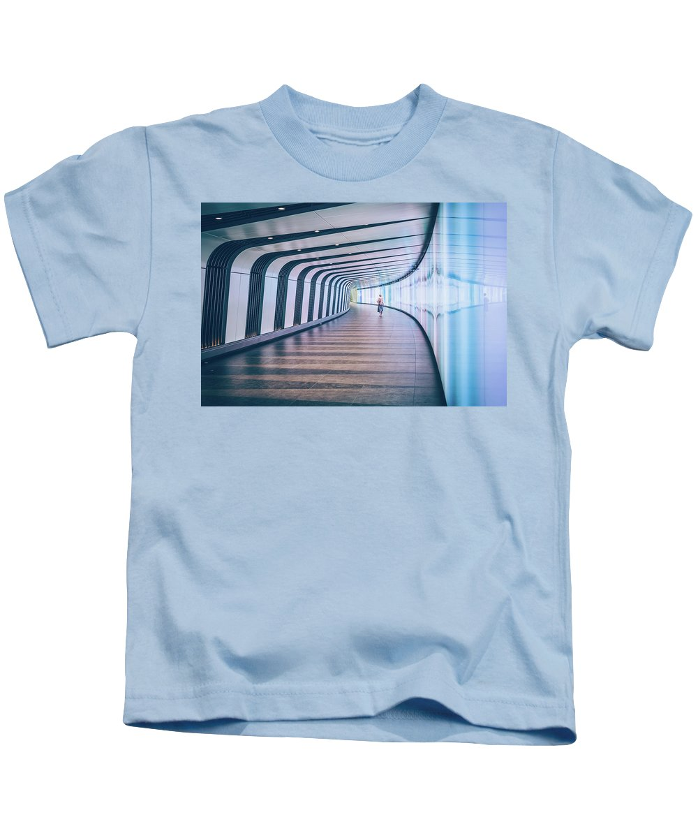 London Kids T-Shirt featuring the photograph Time Machine by Andy Denial