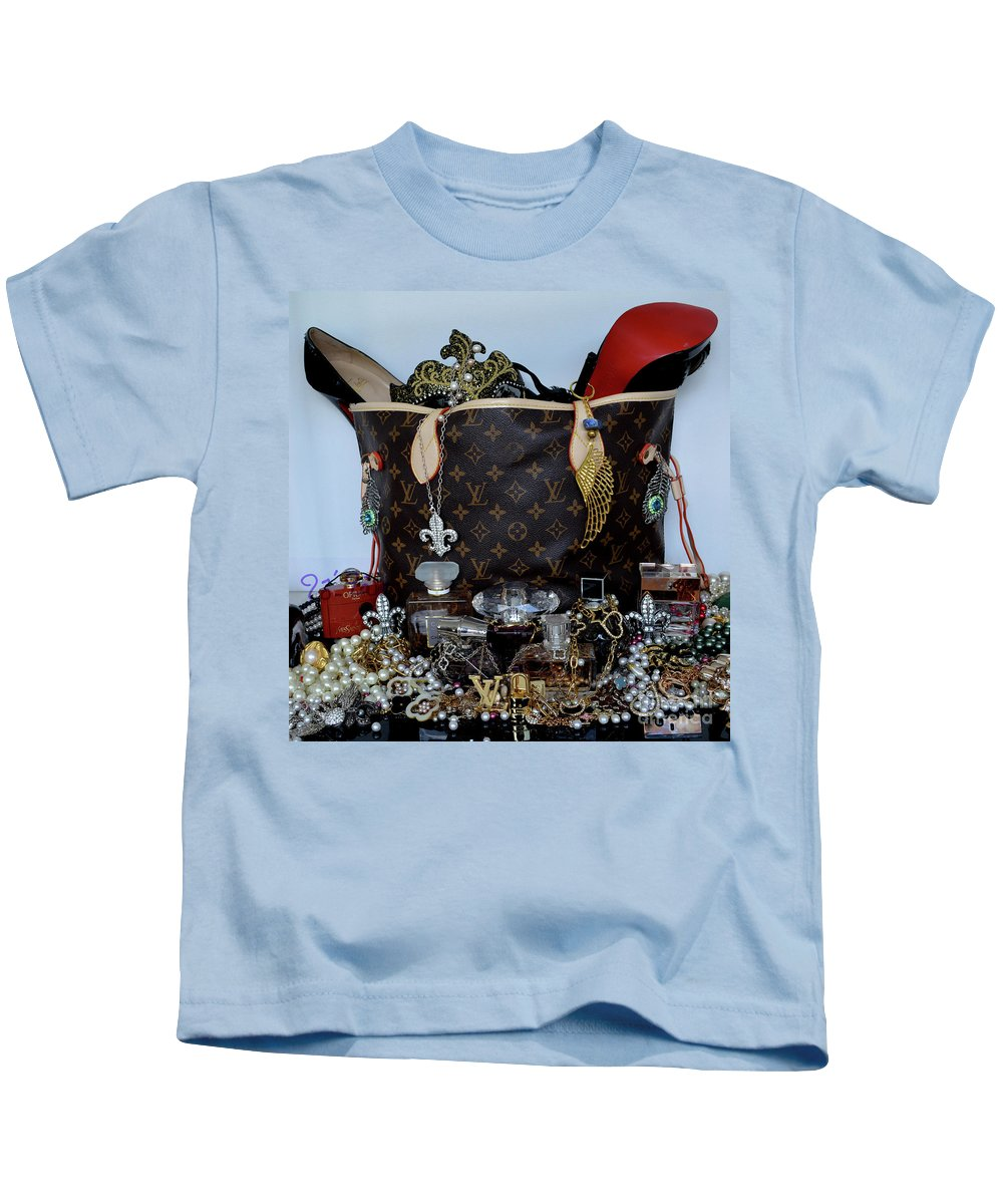 Louis Vuitton Kids T-Shirt featuring the photograph Timeless Beautiful Accessories 46 by To-Tam Gerwe