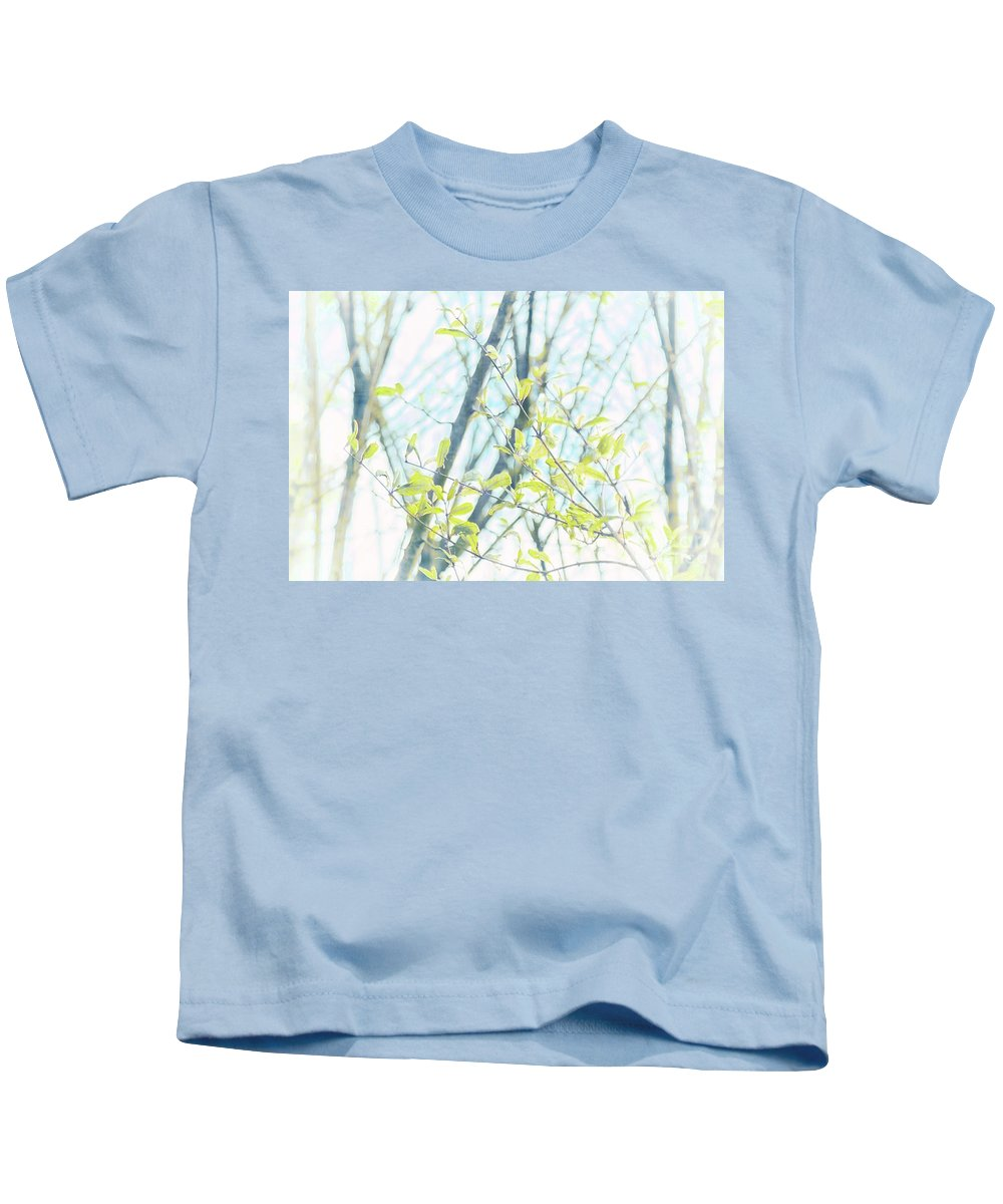 Natural World Kids T-Shirt featuring the photograph To Be In The Light by Davy Cheng