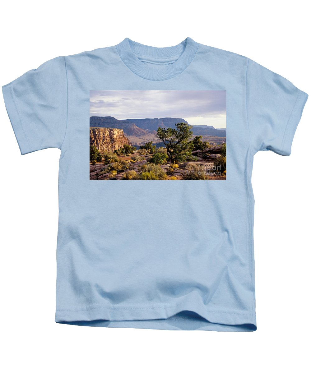 Arizona Kids T-Shirt featuring the photograph Toroweap by Kathy McClure