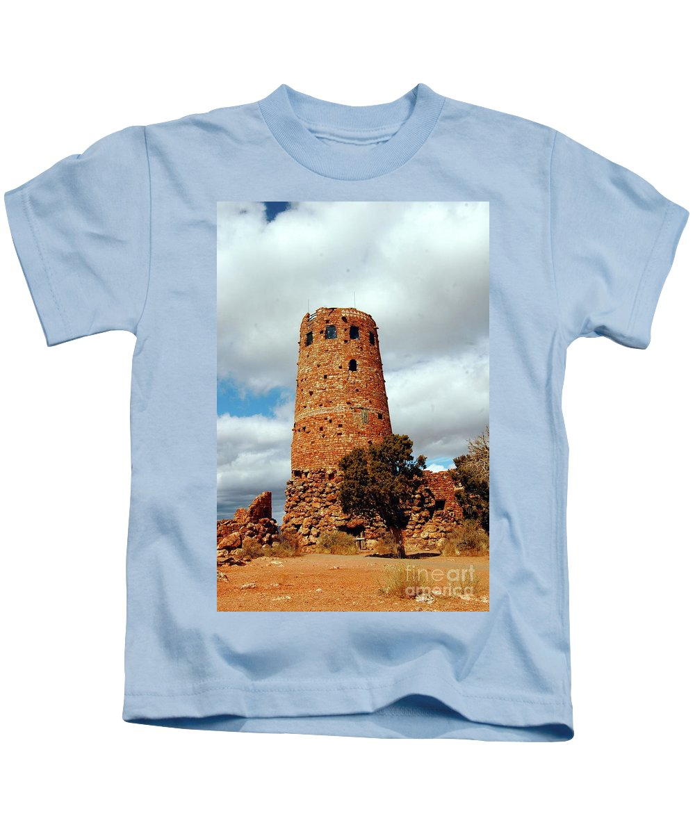 Grand Kids T-Shirt featuring the photograph Tower Of Stone by Kathleen Struckle