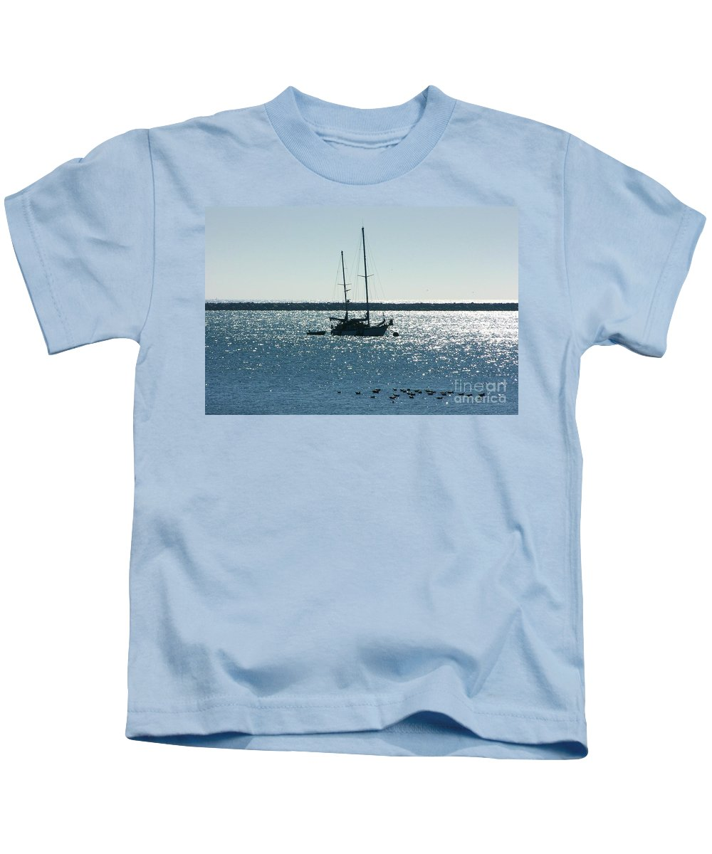 Seascape Kids T-Shirt featuring the photograph Tranquil Bay by Carol Groenen