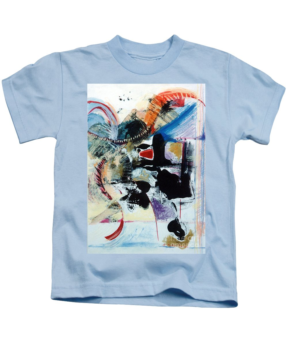 Transcendance Kids T-Shirt featuring the drawing Transcendance by Kerryn Madsen-Pietsch