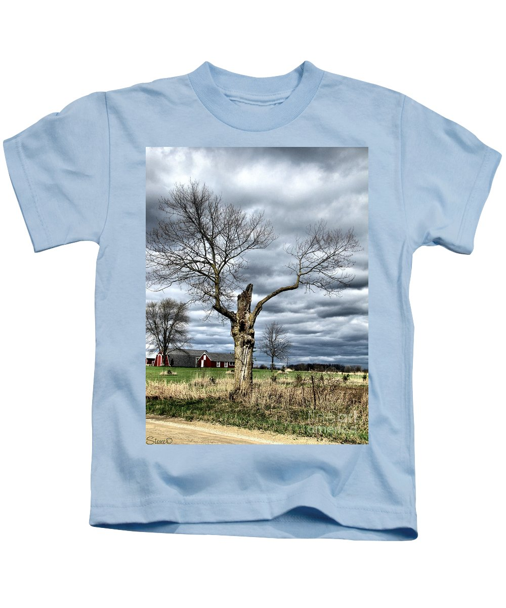 Tree Kids T-Shirt featuring the photograph Tree Man by September Stone