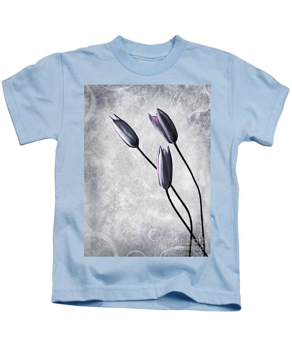 Flowers Kids T-Shirt featuring the photograph Tulips by Jacky Gerritsen