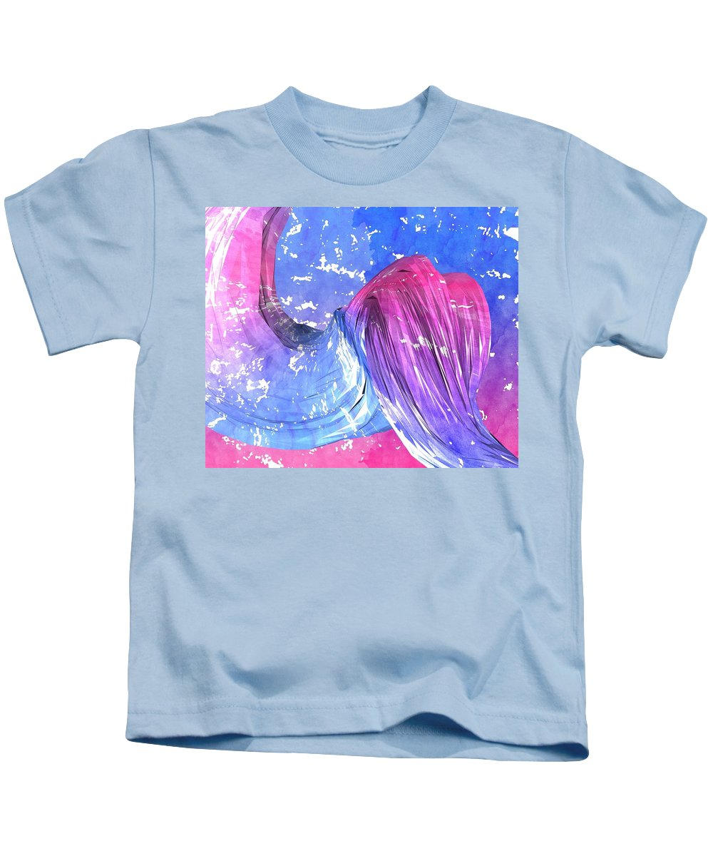 Twisted Kids T-Shirt featuring the painting Twisted by Mark Taylor