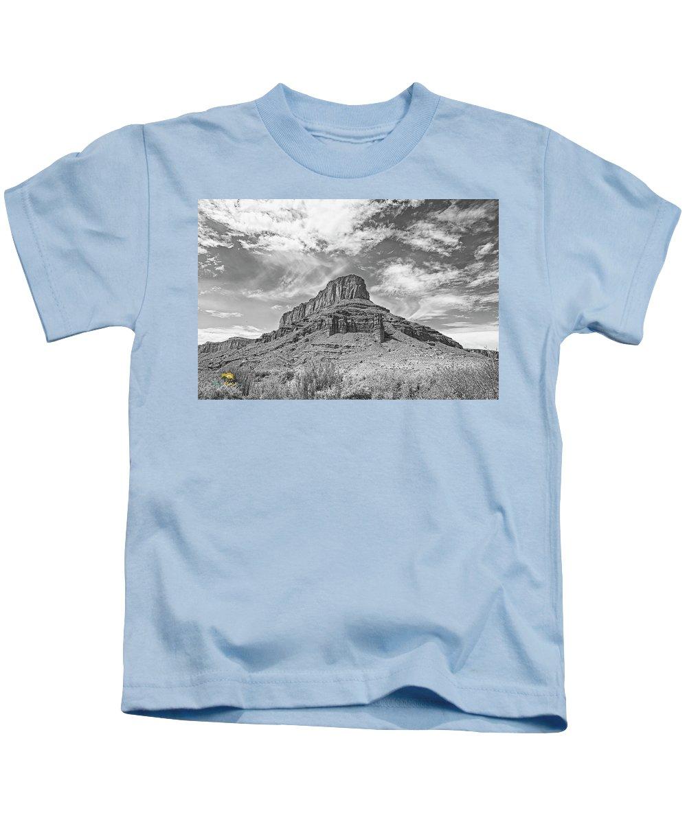 Brush Kids T-Shirt featuring the photograph Utah Landscape by Jim Thompson